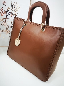 Alex Max torba shopper camel