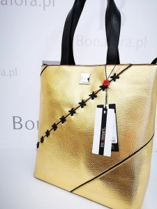 Monnari torba shopper gold